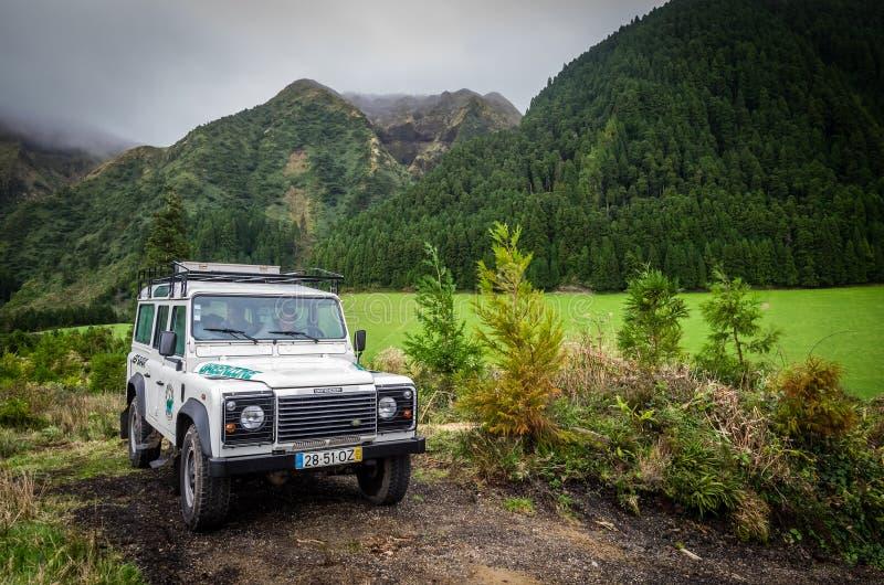 Viaje del jeep foto de archivo libre de regalías