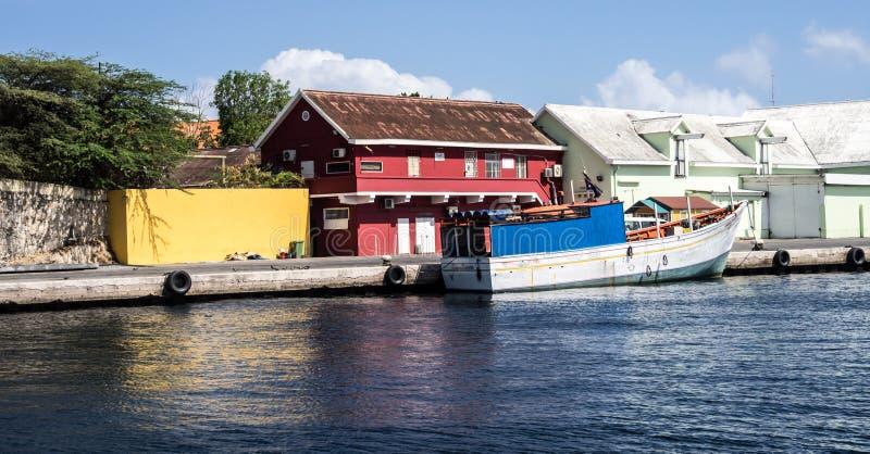Viaje del puerto de Willemstad imagen de archivo
