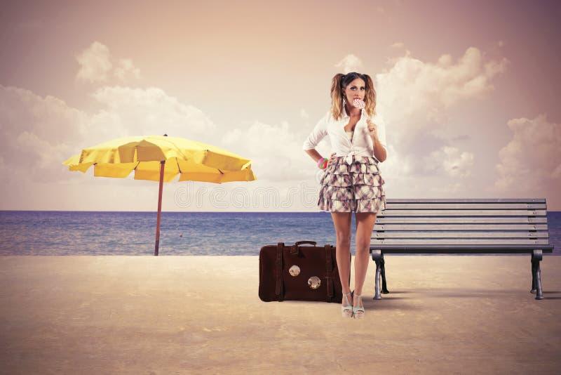 Viaje del verano fotos de archivo