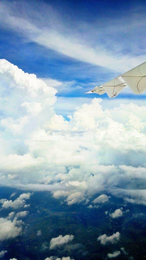 Viaje del vuelo a Surabaya, Indonesia fotografía de archivo libre de regalías