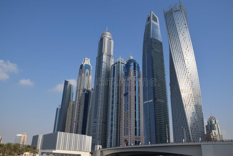 Viaje a Dubai increíble, los United Arab Emirates fotografía de archivo libre de regalías