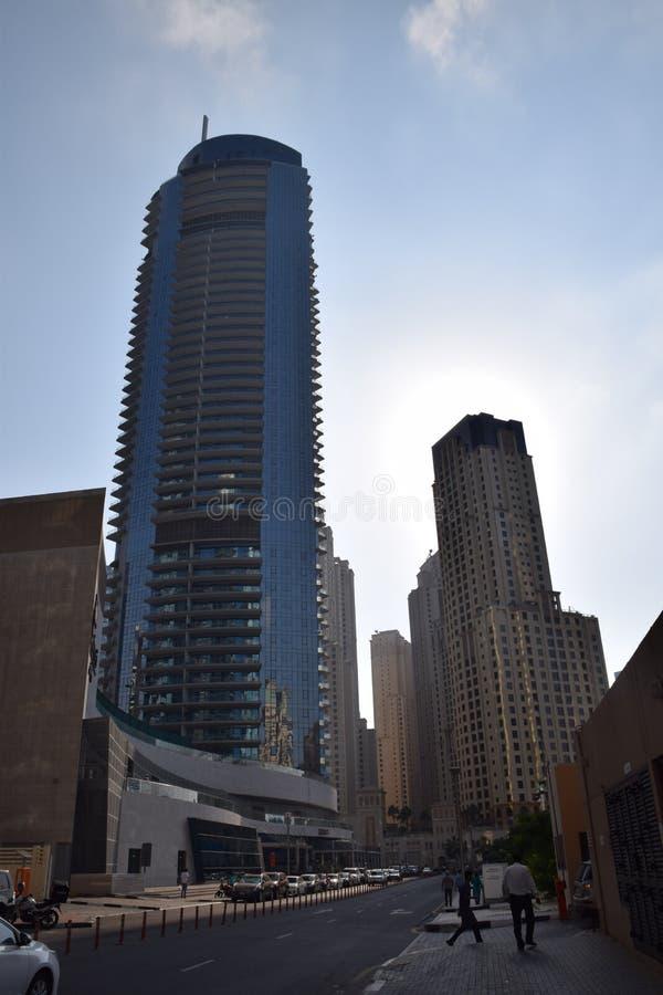 Viaje a Dubai increíble, los United Arab Emirates foto de archivo