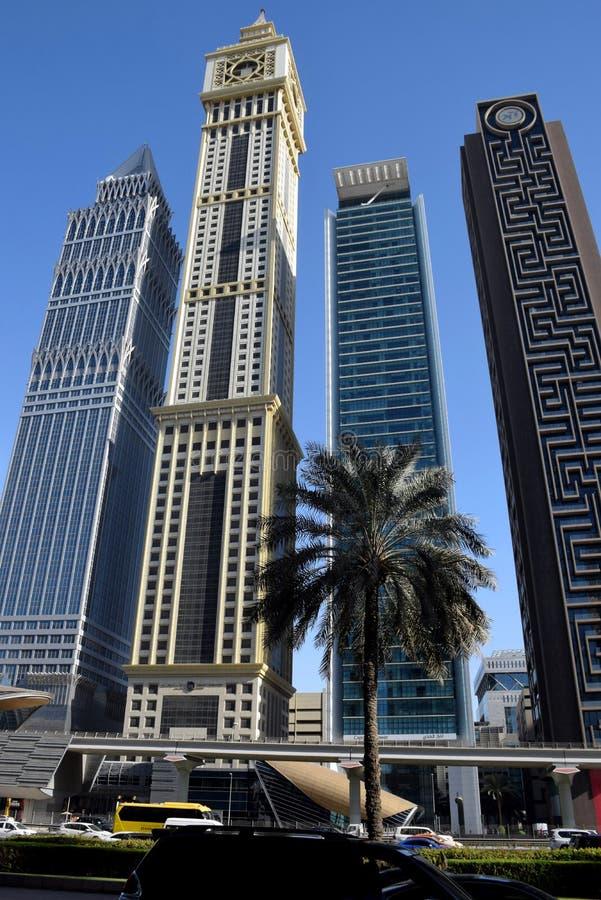 Viaje a Dubai increíble, United Arab Emirates imagen de archivo