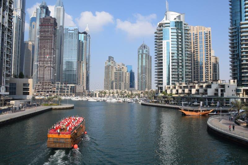 Viaje a Dubai increíble, United Arab Emirates foto de archivo libre de regalías