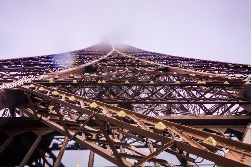 Viaje Eiffel del La imagen de archivo libre de regalías