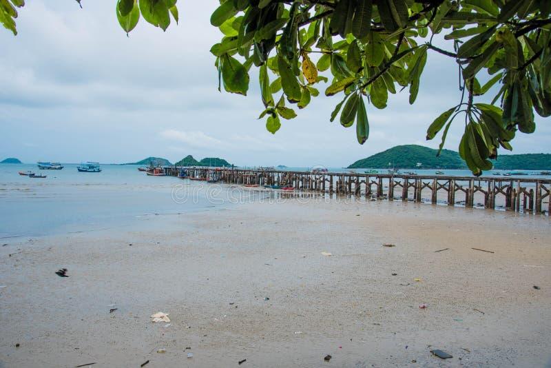 Viaje en Asia, playa de la cultura, playa natural fotografía de archivo