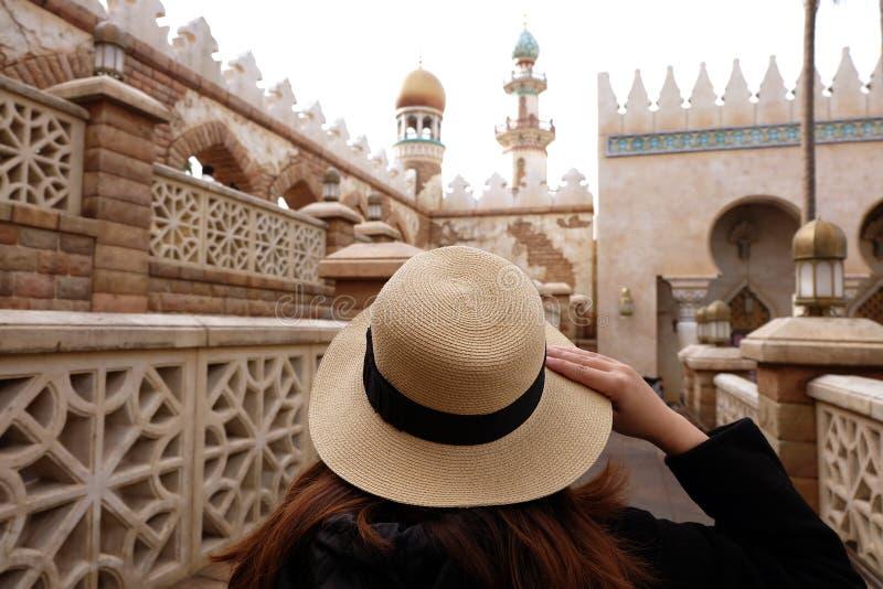Viaje en Masjid foto de archivo libre de regalías