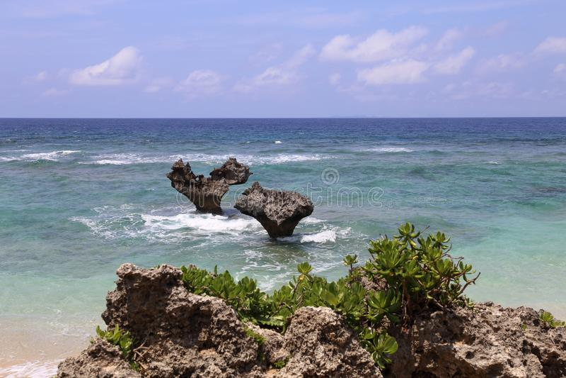 Viaje en Okinawa, Japón imagen de archivo
