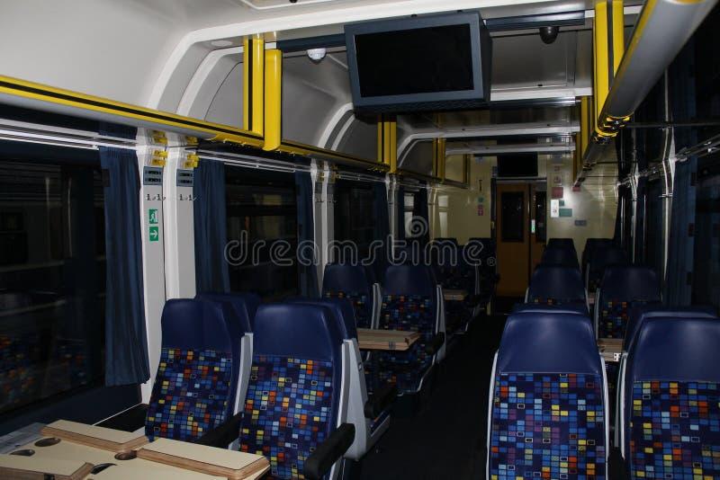 Viaje en tren, asiento en el tren foto de archivo libre de regalías