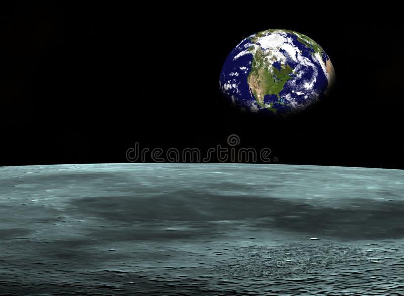 Viaje espacial [3] stock de ilustración