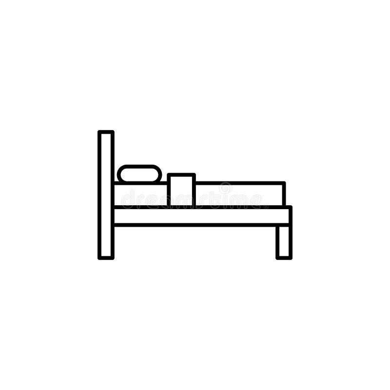Viaje, icono del esquema de la llave de sitio Elemento del ejemplo del viaje Las muestras y el icono de los símbolos se pueden ut libre illustration