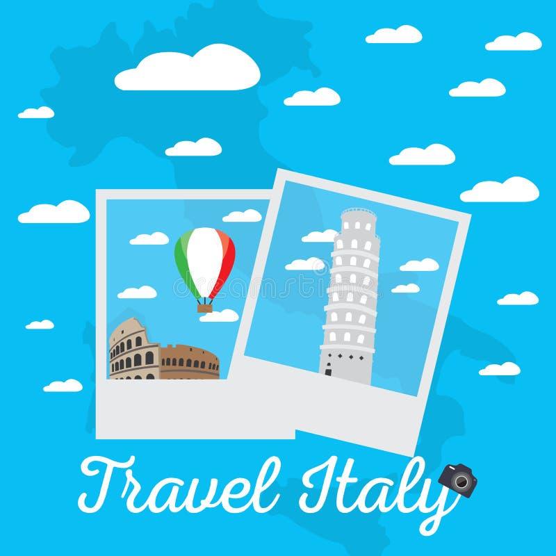 Viaje a Italia libre illustration