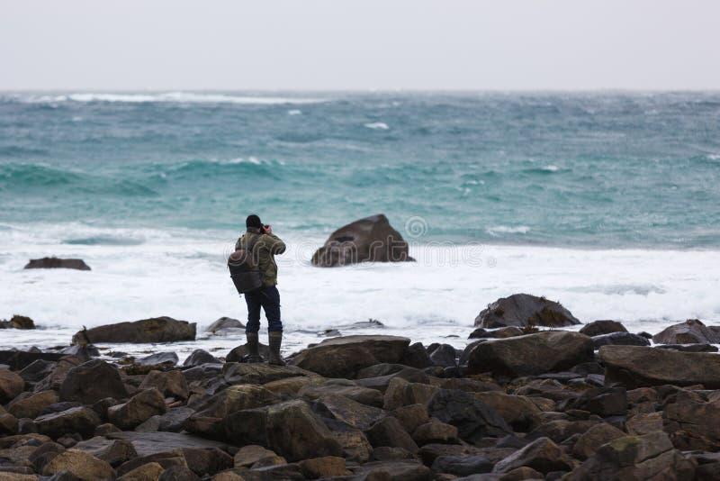 Viaje a las islas de Lofoten foto de archivo libre de regalías