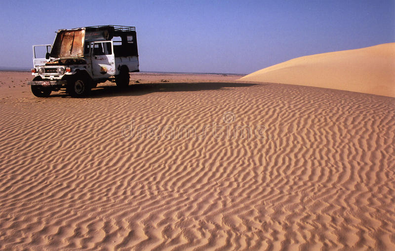 Viaje occidental del desierto de Egipto imagen de archivo