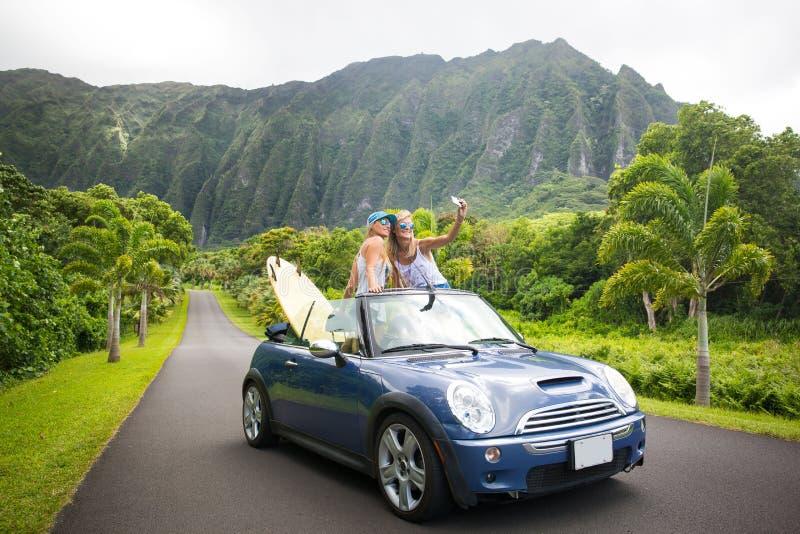 Viaje por carretera de Hawaii imagen de archivo libre de regalías