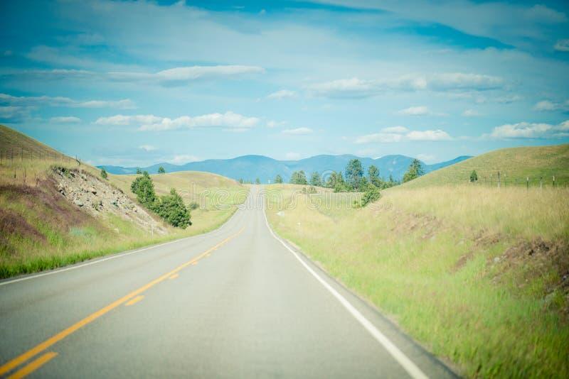 Viaje por carretera del verano fotos de archivo