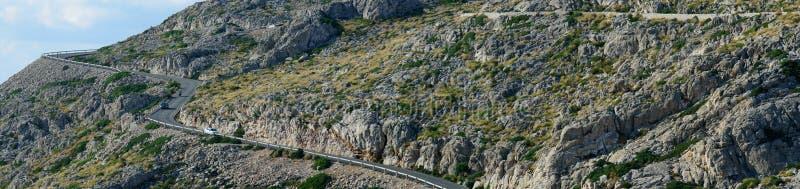Viaje por carretera a través de Mallorca fotografía de archivo libre de regalías