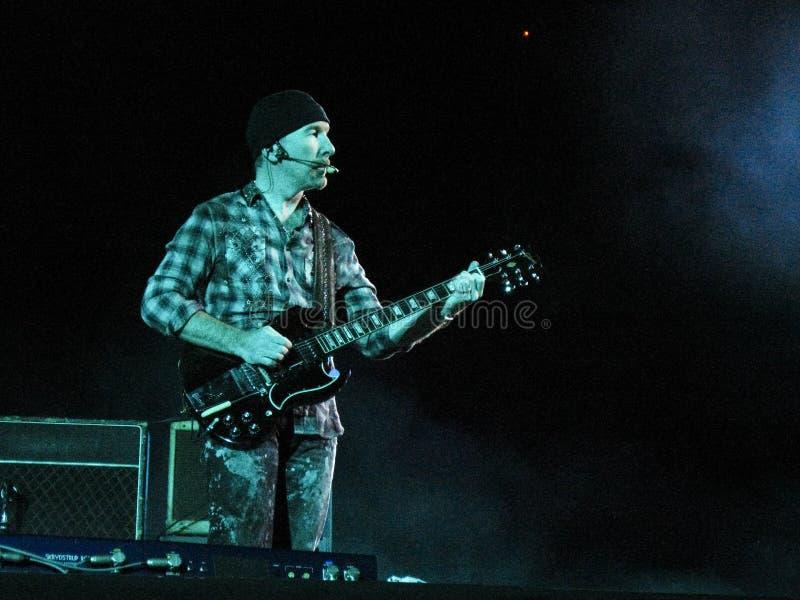 Viaje U2 360 foto de archivo