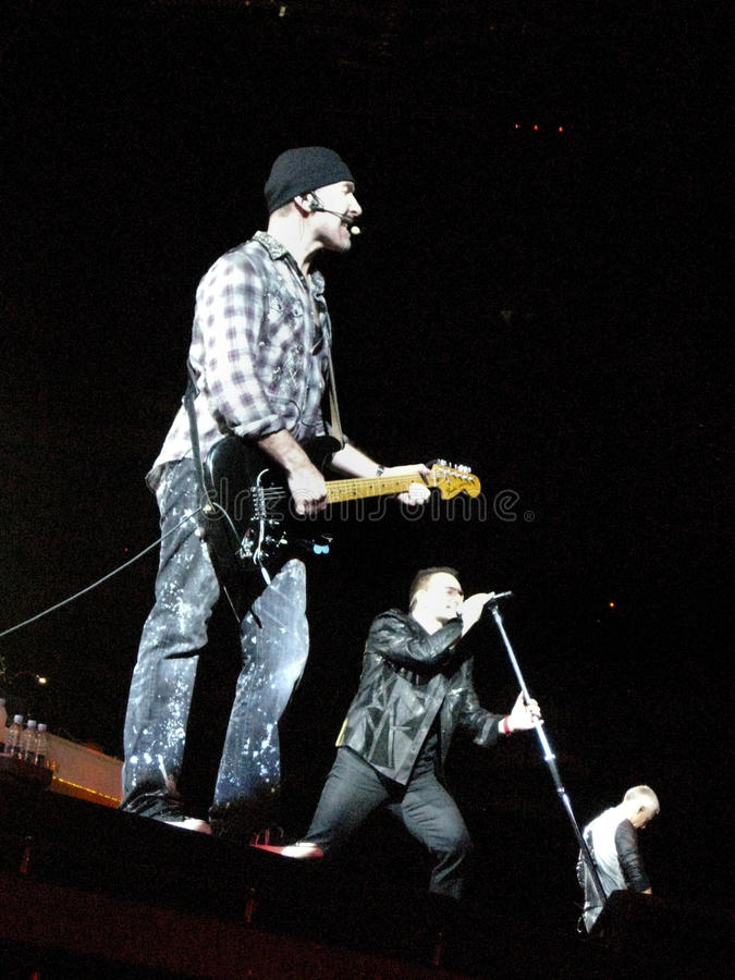 Viaje U2 360 imagen de archivo