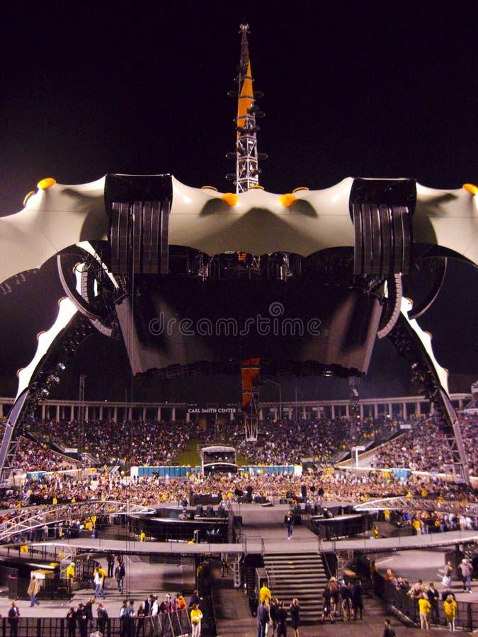 Viaje U2 360 imágenes de archivo libres de regalías