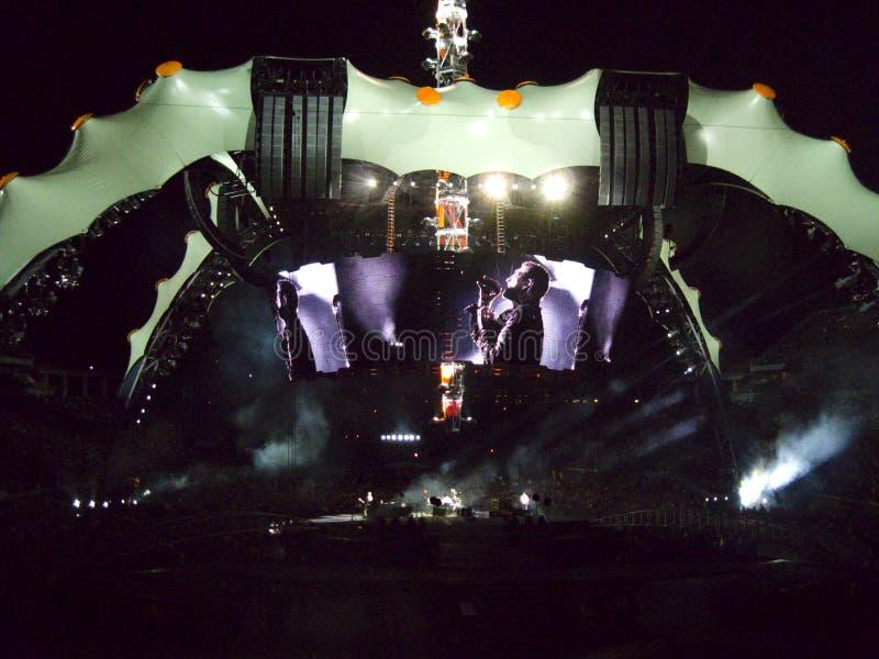 Viaje U2 360 imagen de archivo libre de regalías