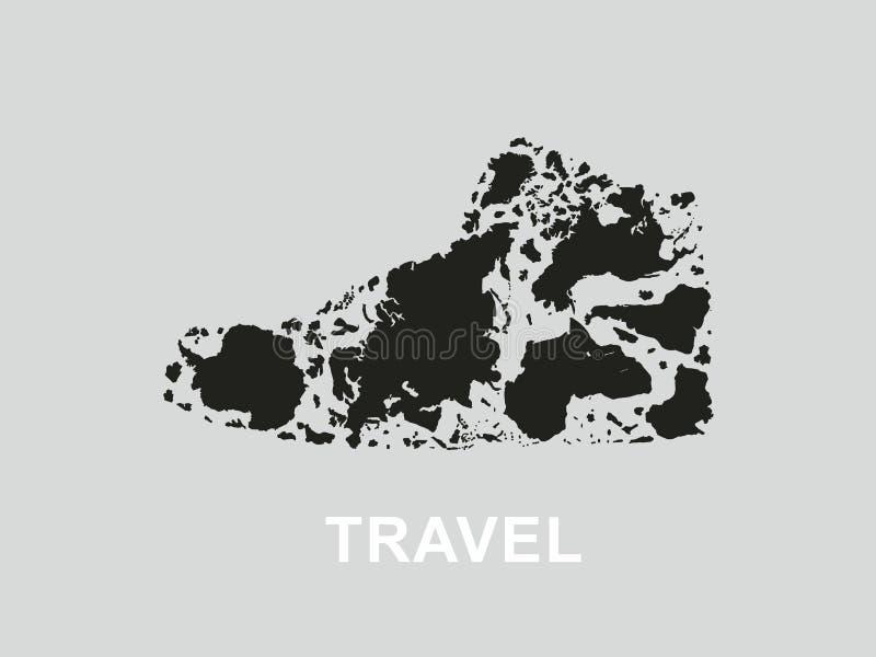 Viajes libre illustration