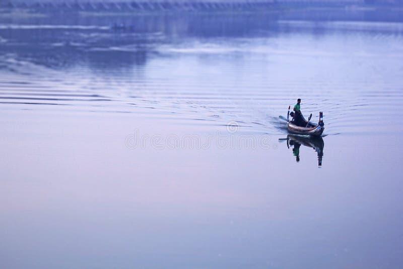 Viajes del barco del lago, Myanmar fotos de archivo libres de regalías