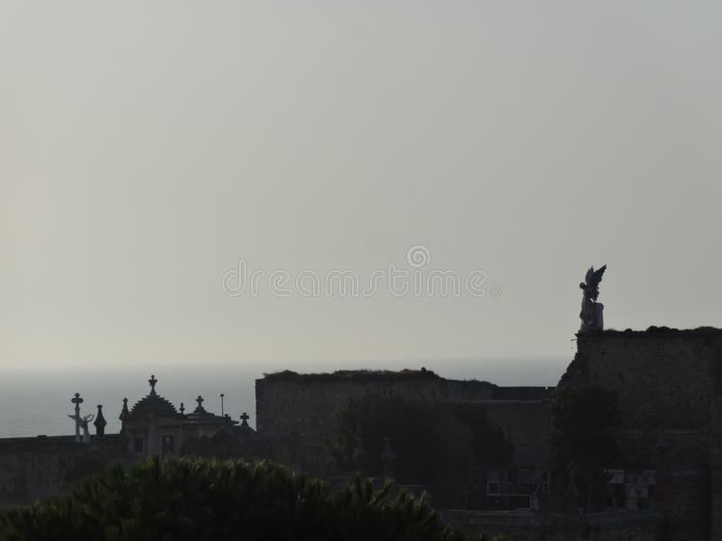 Viajes a través de España imagen de archivo libre de regalías