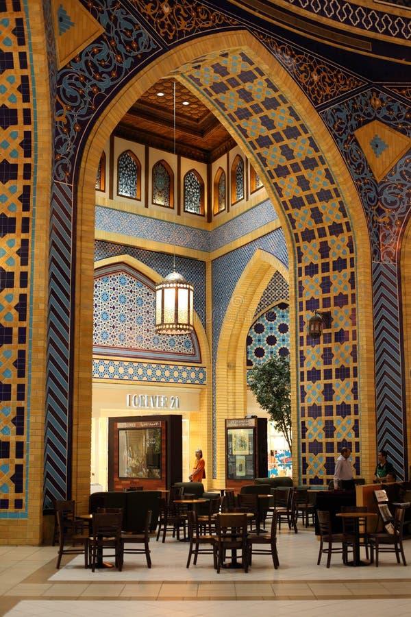 Viale di Ibn Battuta in Doubai immagine stock libera da diritti