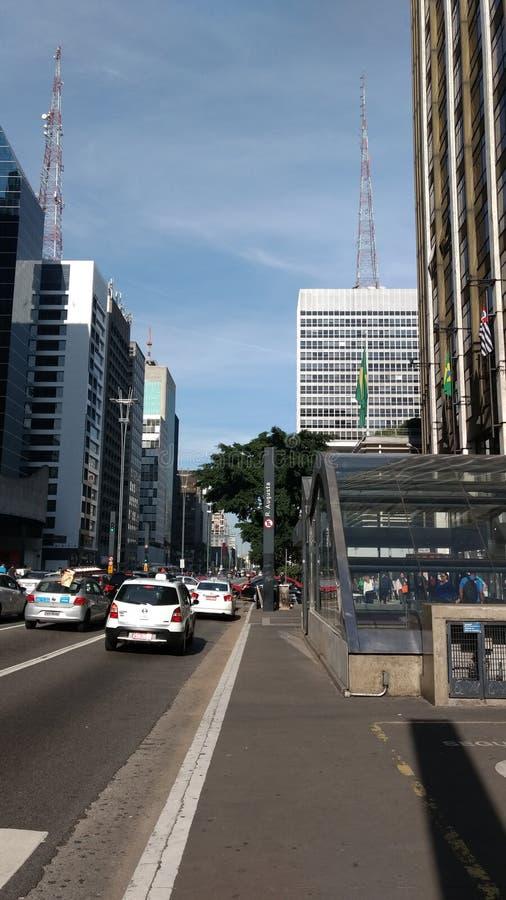 Viale di Paulista immagine stock libera da diritti