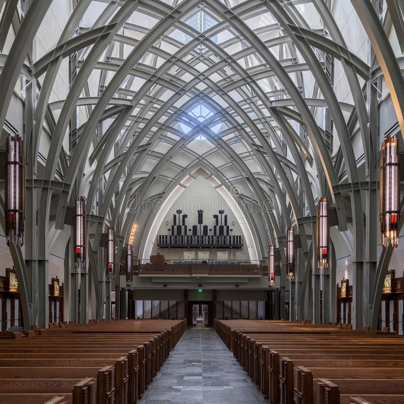 Viale Maria Catholic Church fotografie stock libere da diritti