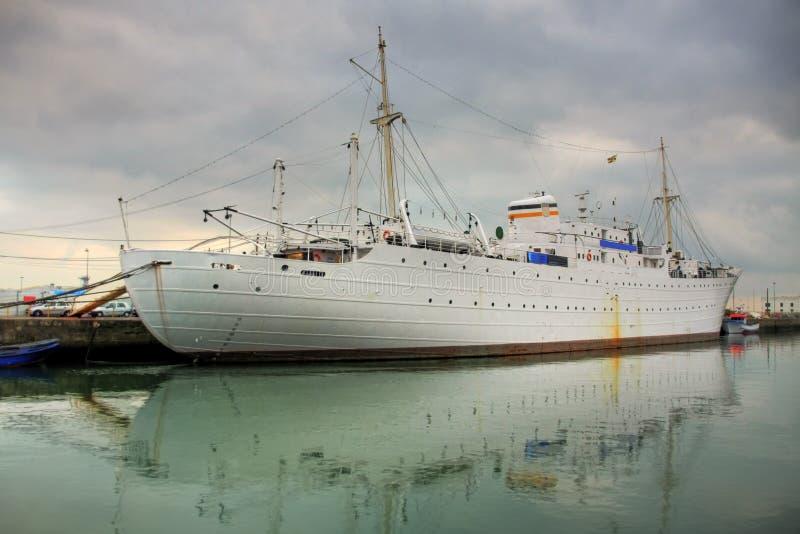 Viana do Castelo Harbor royalty free stock photos