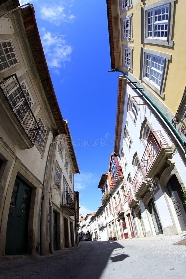 Viana do Castelo street royalty free stock image