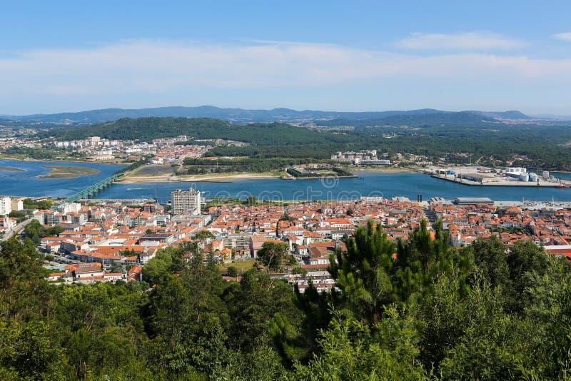 Download Viana hace Castelo foto de archivo. Imagen de centro - 44858478
