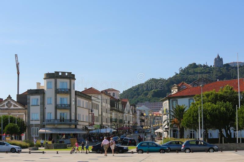Download Viana hace Castelo foto de archivo editorial. Imagen de cityscape - 44858568