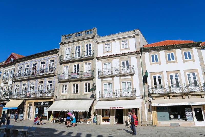 Download Viana hace Castelo imagen editorial. Imagen de cityscape - 44858575