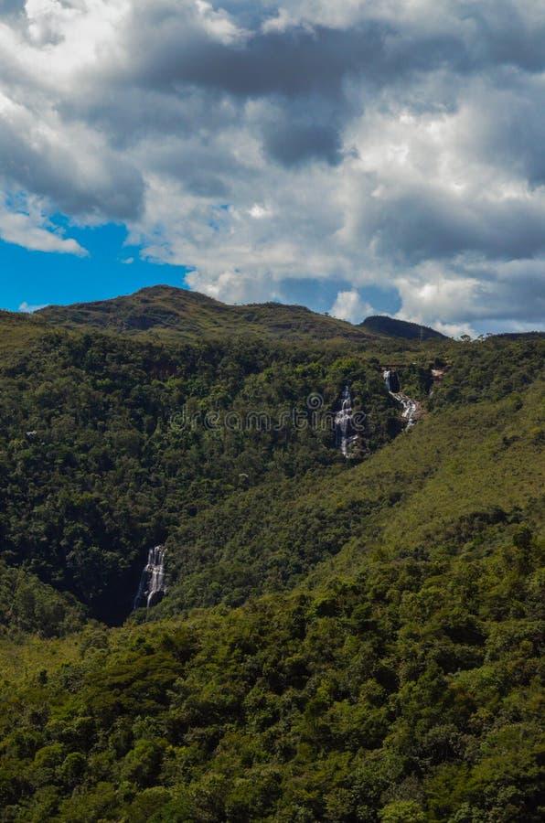 Viana Waterval stock afbeelding