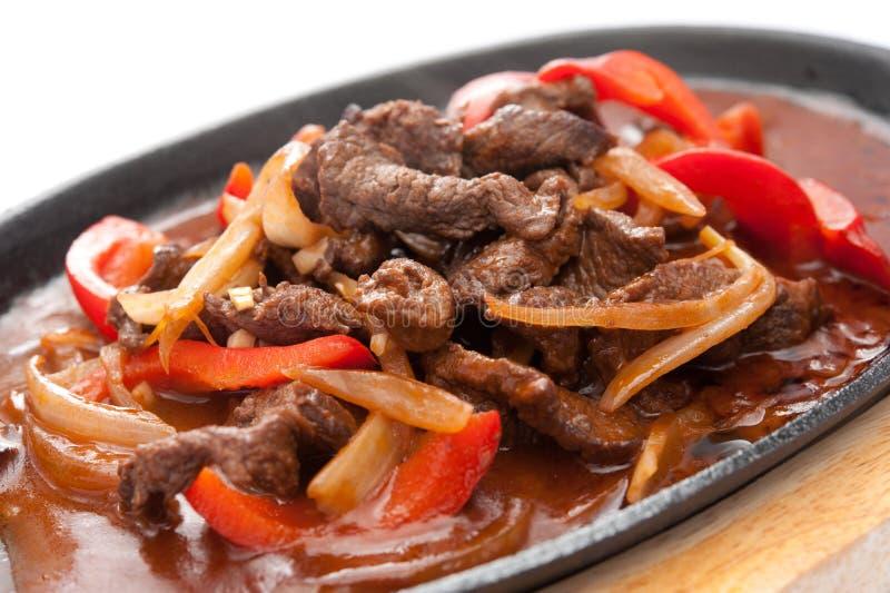 Viande avec des légumes photo libre de droits