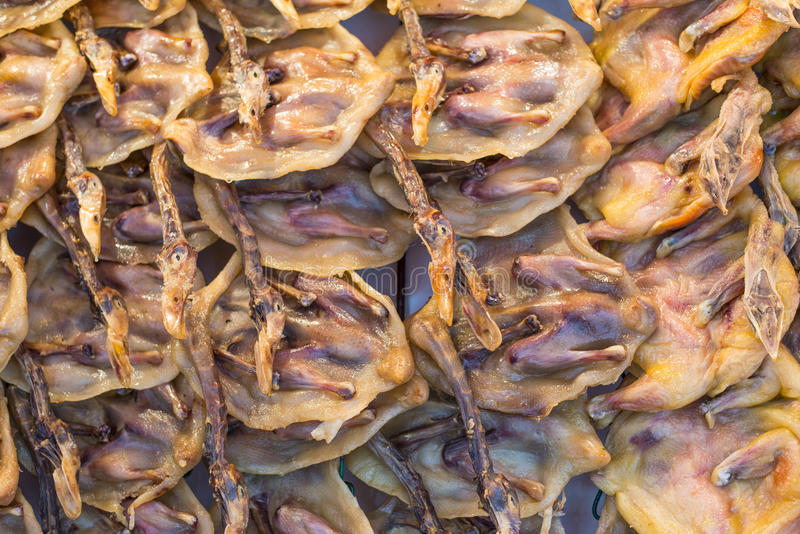 Viande corrigée de canard photo stock
