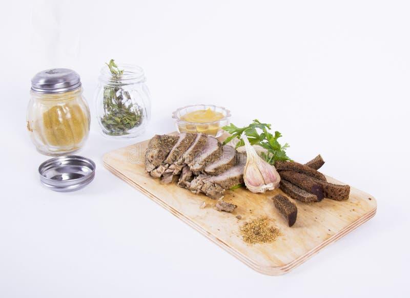 Viande cuite au four image libre de droits