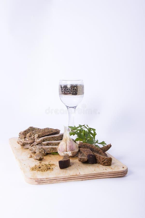 Viande cuite au four images stock