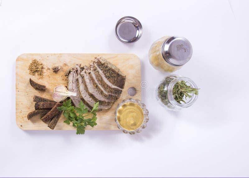 Viande cuite au four photographie stock libre de droits