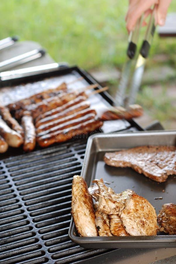 Viande de barbecue photographie stock