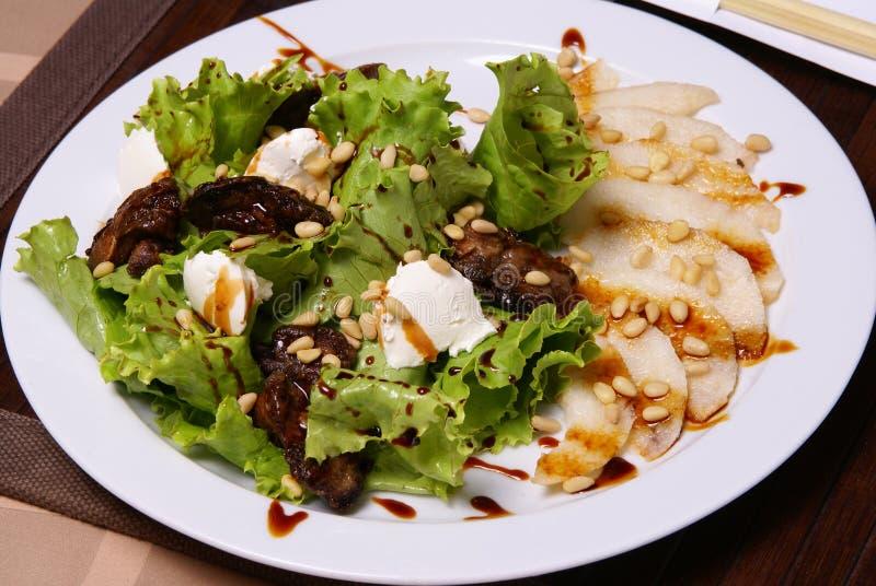 Viande de salade. photographie stock libre de droits