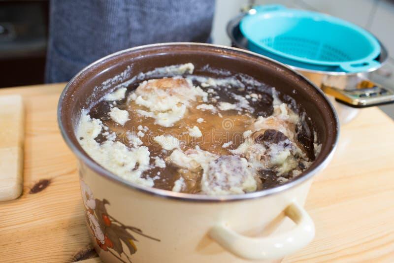 Viande froide de gelée. images stock