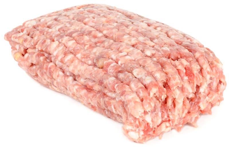 Viande hachée crue photographie stock libre de droits