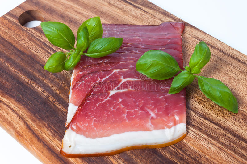 Viande pressée photographie stock libre de droits