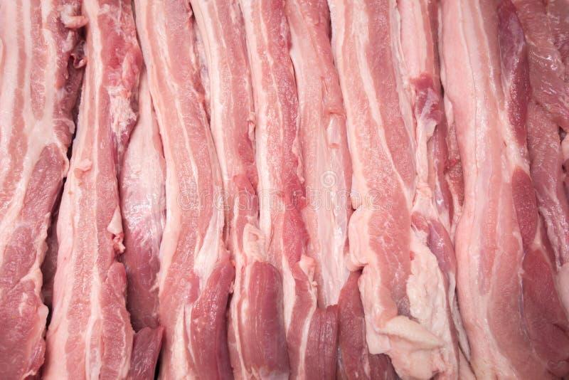 Viande sur le marché photo libre de droits