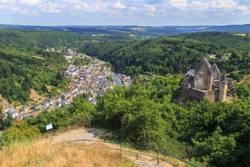 Vianden, Λουξεμβούργο στοκ φωτογραφία με δικαίωμα ελεύθερης χρήσης
