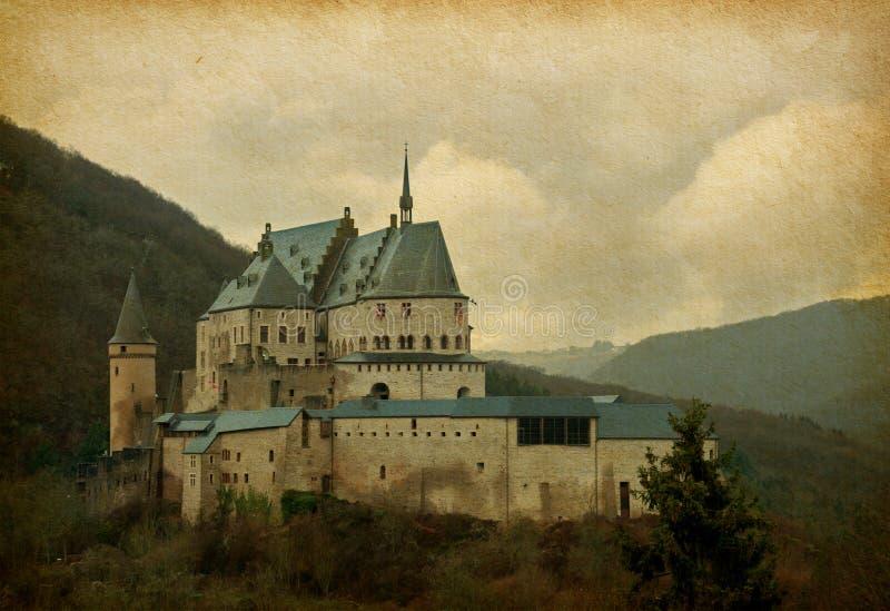 Download Vianden Castle stock image. Image of nobody, medieval - 37051497